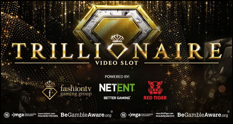 NetEnt AB partnership releases the new Trillionaire video slot