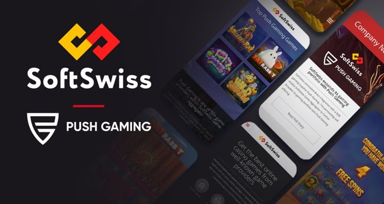 "Push Gaming agrees ""extensive content deal"" with SoftSwiss"