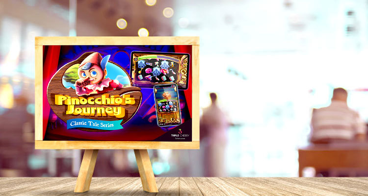 Triple Cherry adds Pinocchio's Journey to growing slots collection