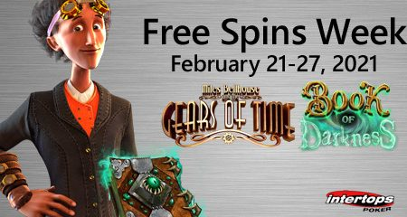 Intertops Poker preparing for new extra spins week with popular Betsoft online slot titles