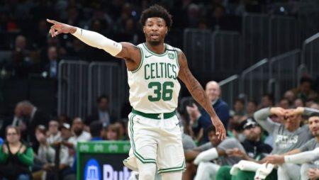 Marcus Smart of the Boston Celtics May Return Following All Star Break