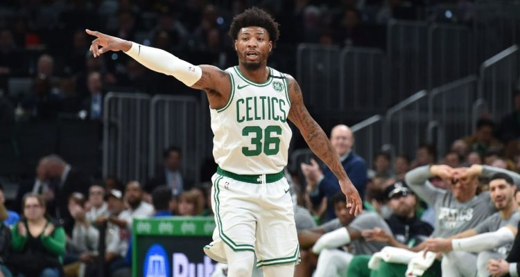 Marcus Smart of the Boston Celtics May Return Following All Star Break