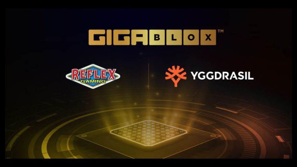 Reflex Gaming to leverage Yggdrasil's Gigablox™ mechanic