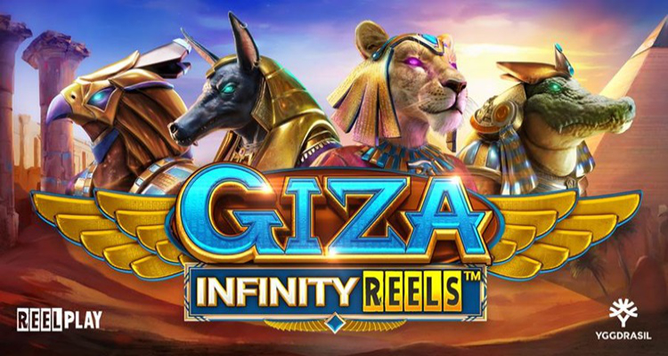 Yggdrasil and YG Masters partner ReelPlay introduces a new online slot game titled GIZA Infinity Reels