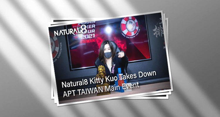 Natural 8's Kitty Kuo wins Main Event of APT Taiwan