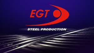 EGT goes into steel production