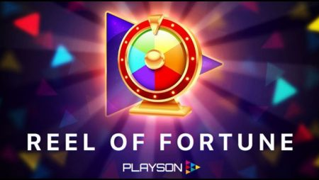 Reel of Fortune engagement booster launched by Playson Limited