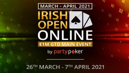Irish Open Online qualifiers running now at partypoker