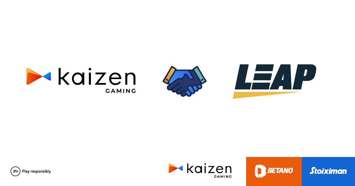 Kaizen Extends Partnership with Leap Gaming