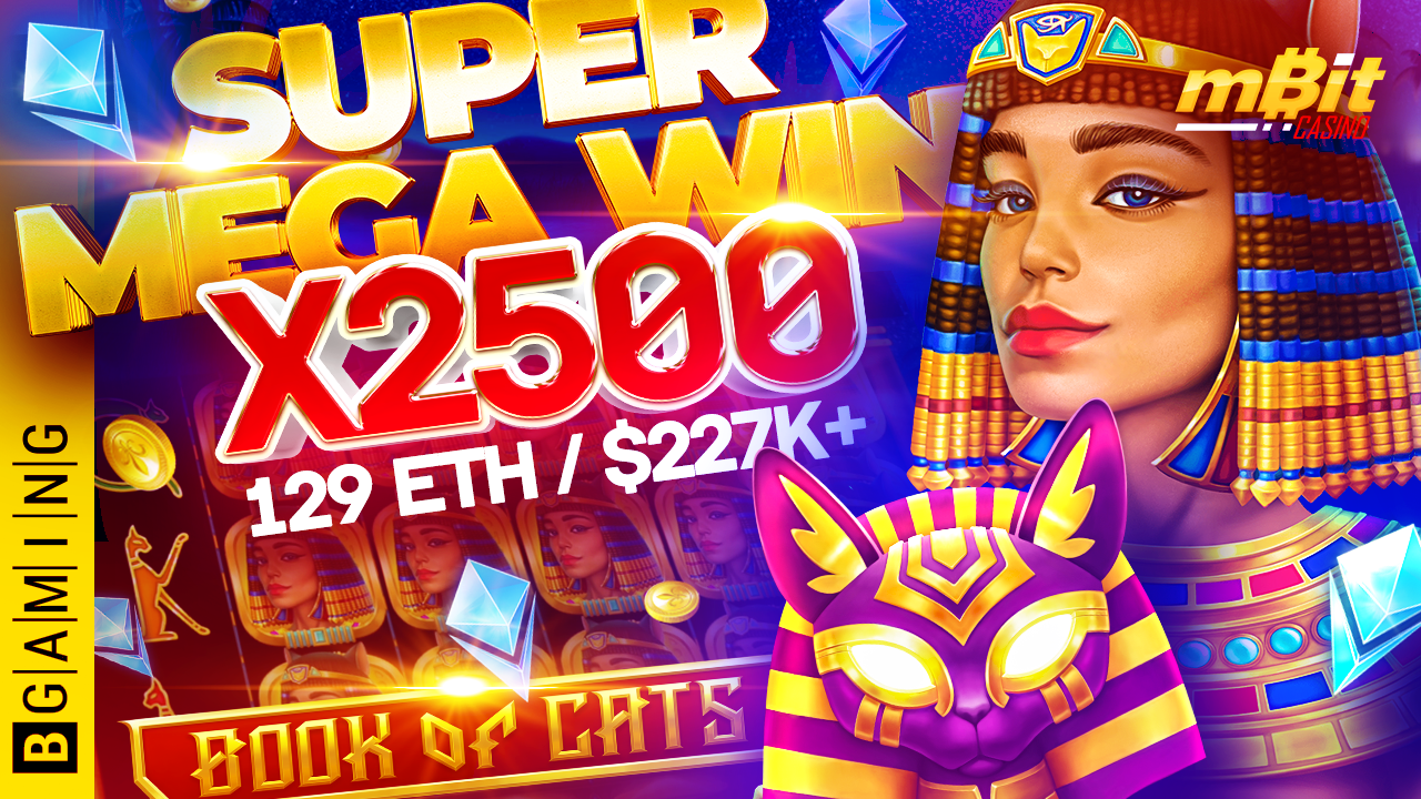 Over $225K Won in Just 3 Minutes: Book of Cats by BGaming thrills players with amazing gifts!