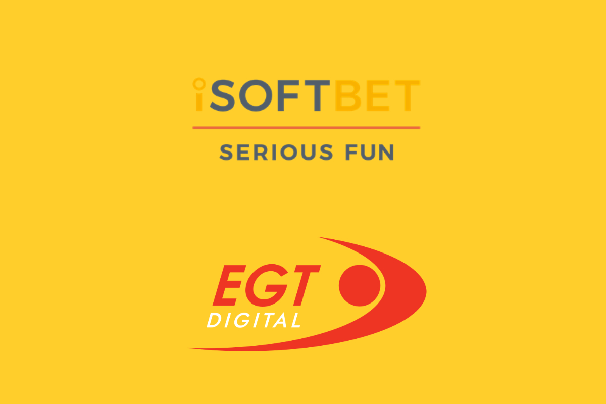 iSoftBet confirms content partnership with EGT Digital