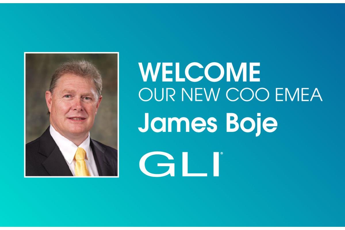 Gaming Laboratories International (GLI®) Names James Boje Chief Operating Officer, EMEA
