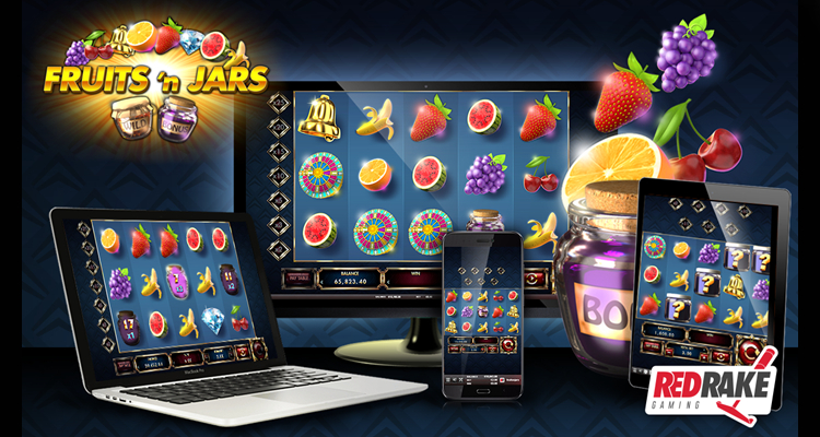 Red Rake Gaming announces its latest online slot release Fruits'n Jars