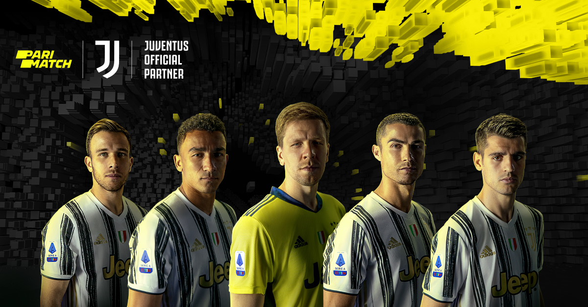 Parimatch, Juventus official betting partner Launches a New Global Campaign Featuring Arthur, Danilo, Morata, Ronaldo and Szczesny