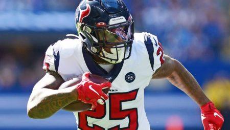 Running Back Duke Johnson of the Houston Texans is Released
