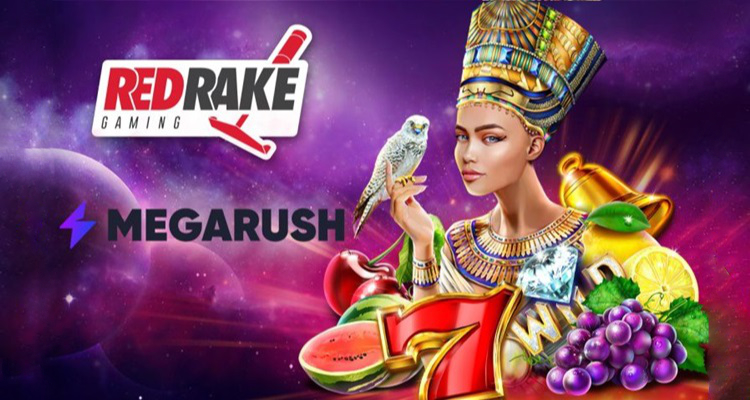 MegaRush to enhance games lobby via new content partnership agreement with Red Rake Gaming