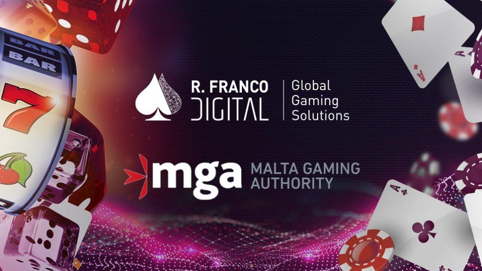 R. Franco Digital celebrates MGA licence