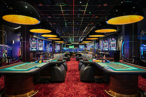 Manchester casino equipped by TCS JH