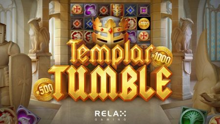 Relax Gaming releases fourth title in Tumble series with online slot game Templar Tumble