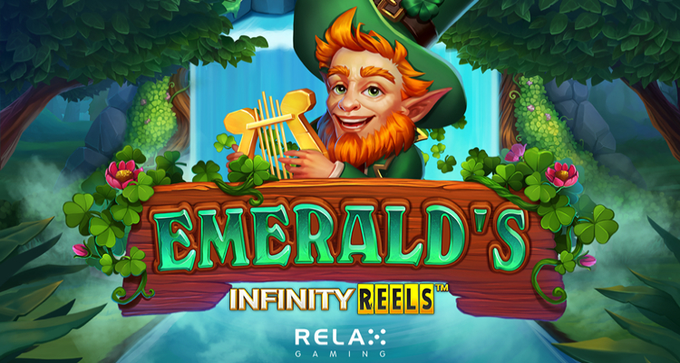 Relax Gaming introduces new online slot game Emerald's Infinity Reels just in time for St. Patrick's Day