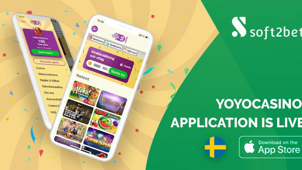 Soft2Bet launches YoYoCasino app