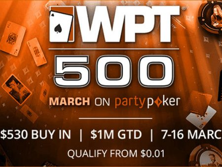 WPT500 Festival begins online this weekend at partypoker