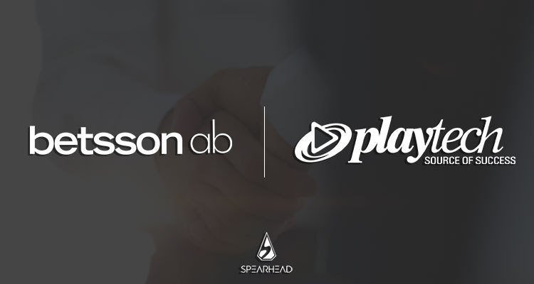 Betsson Group agrees new partnership deals with Spearhead Studios and Playtech
