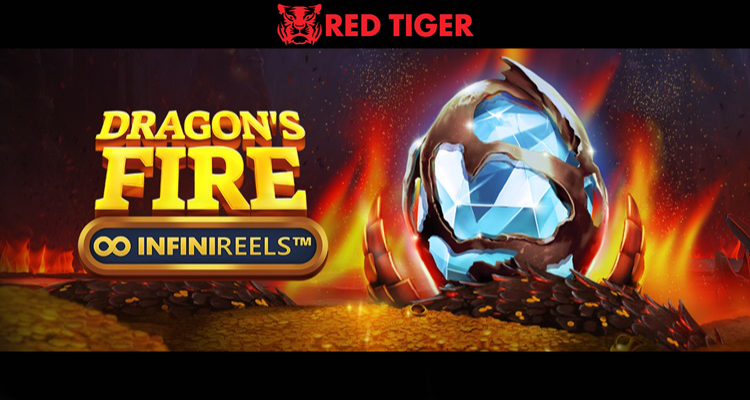 "Red Tiger's new Dragons Fire: InfiniReels video slot represents ""major new milestone"" in NetEnt studio cooperation"