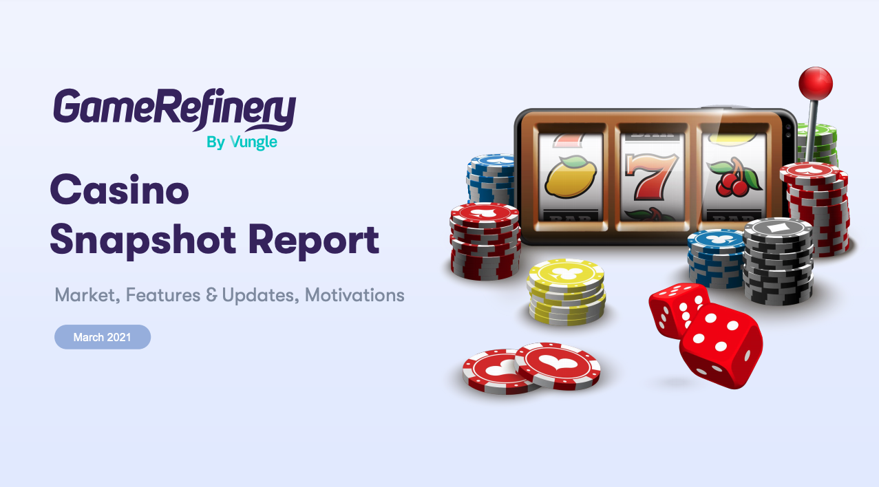 Casino games are the second biggest revenue generator on mobile