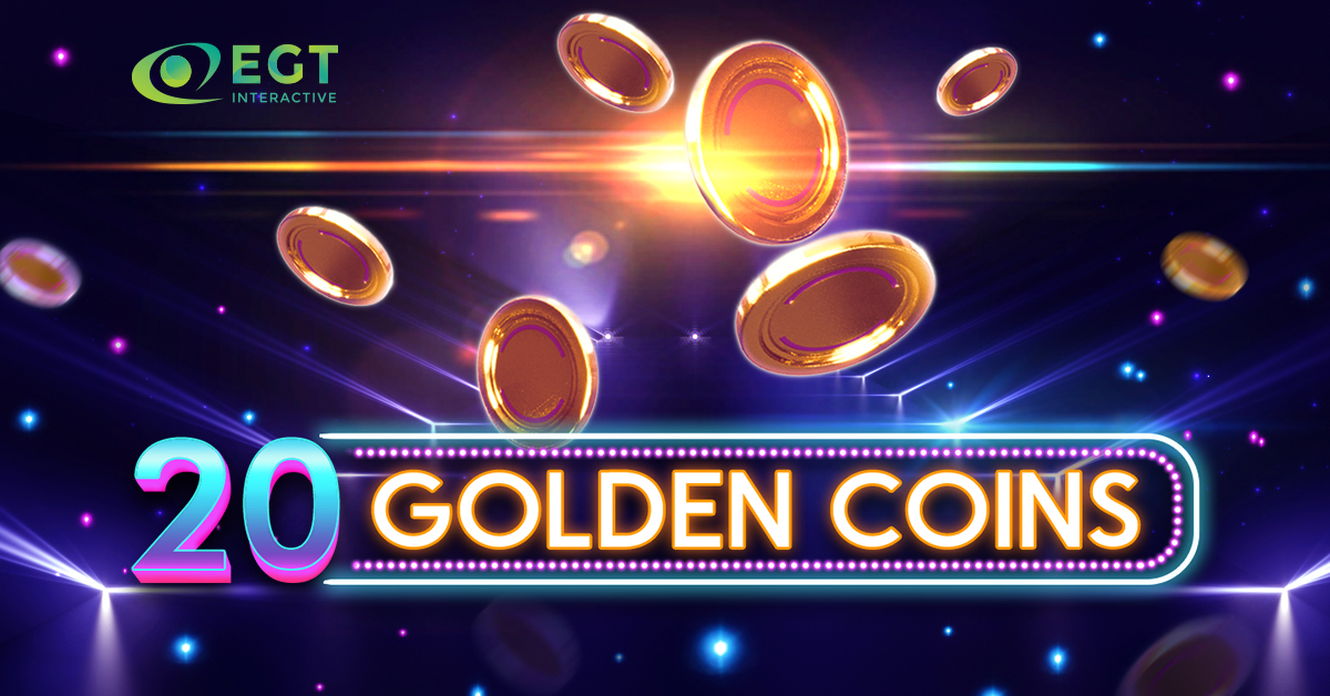 """EGT Interactive Releases its New Video Slot """"20 Golden Coins"""""""