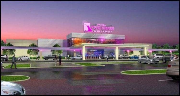 Catawba Indian Nation unveils plan to debut a temporary North Carolina casino