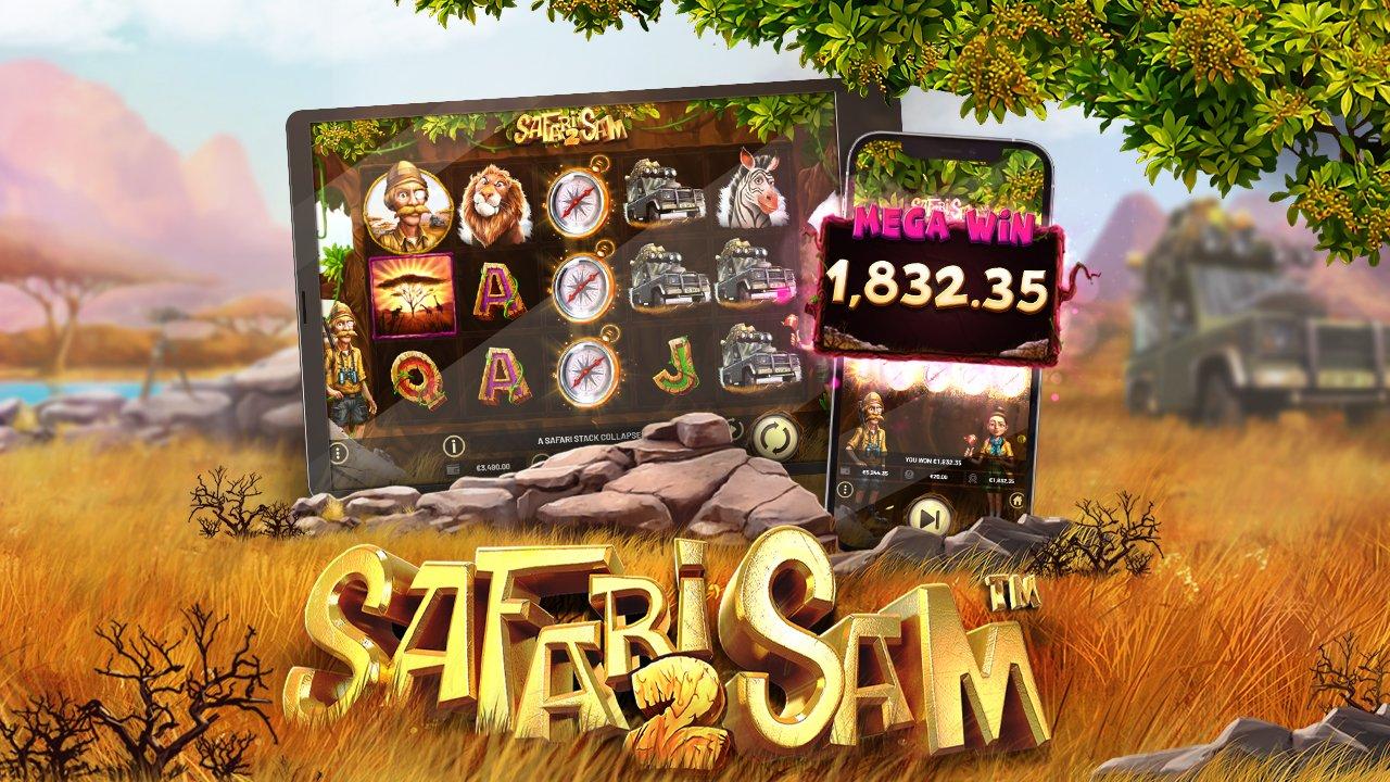 Betsoft Gaming Launches Safari Sam 2