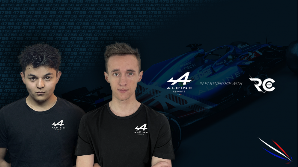 Alpine officially enters esports with Alpine Esports Team: driver lineup and competition schedule revealed
