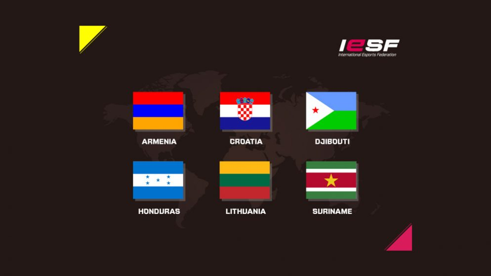 Six New Nations Join International Esports Federation
