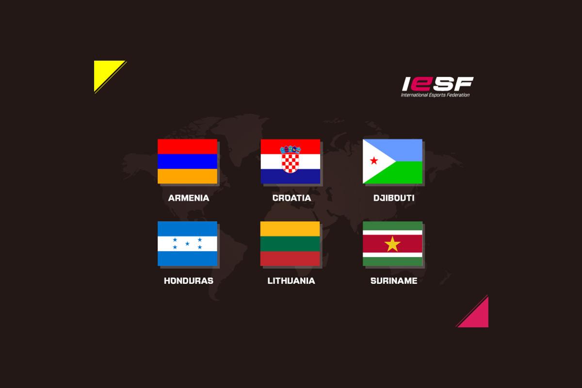 Six New Nations Join International Esports Federation