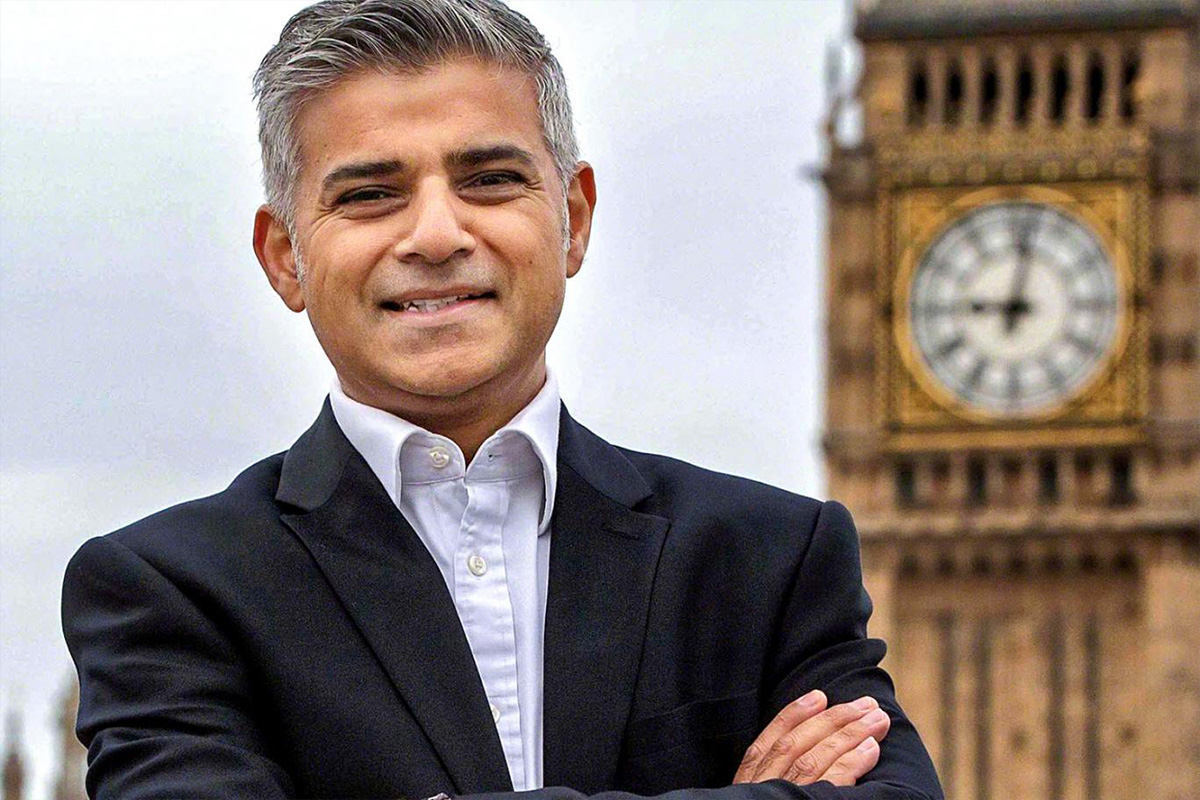 London Mayor Sadiq Khan Pledges to Ban Gambling Ads on the Tube