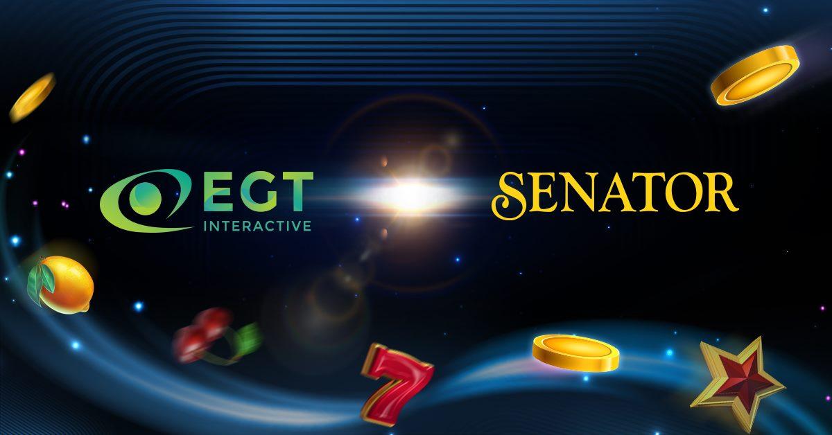 EGT Interactive Expands its Partnership with Senator