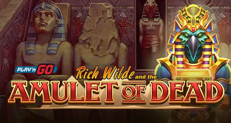 Play'n GO brings Rich Wilde back again in its new Amulet of the Dead online slot game