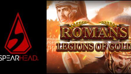 Spearhead Studios unveils Romans: Legions of Gold video slot