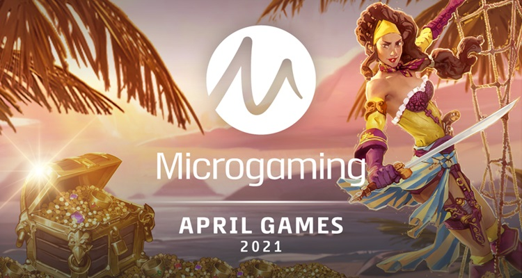 Microgaming unveils April lineup of new slots