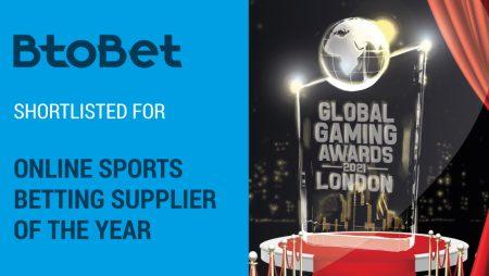 BtoBet Shortlisted for Global Gaming Award