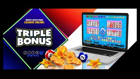 Fun in the Palm of Your Hand With 'Triple Bonus' From Zitro Digital
