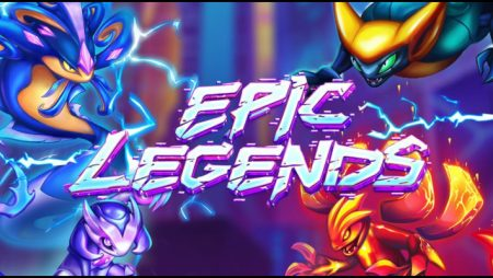 Evoplay Entertainment launches its new Epic Legends video slot