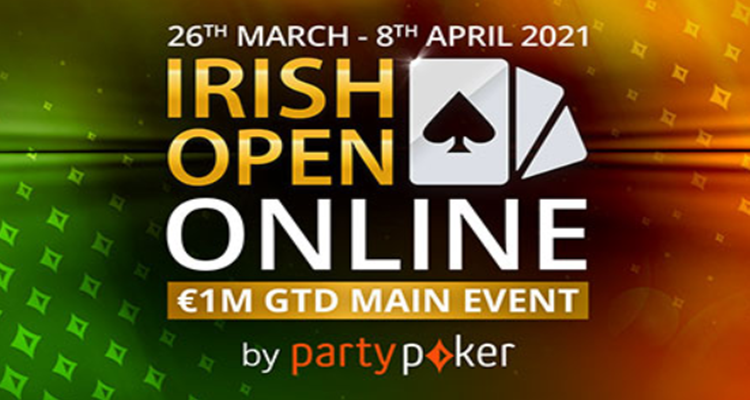 Irish Open Main Event concludes online at partypoker with Pavel Veksler claiming the title win