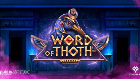 Yggdrasil launches Jade Rabbit Studio YG Masters debut video slot, Word of Thoth