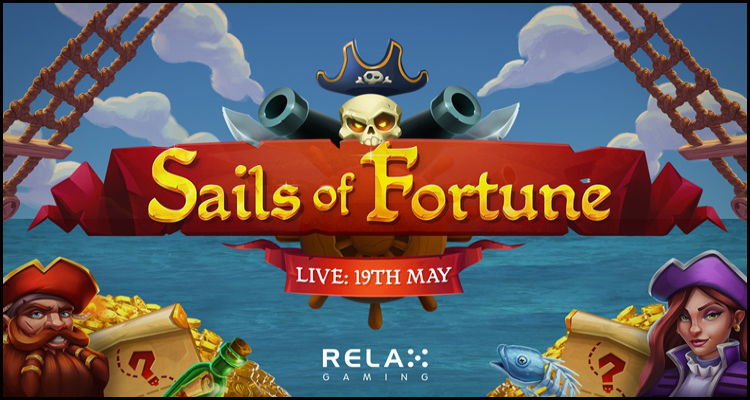 Relax Gaming Gibraltar Limited launches its new Sails of Fortune video slot