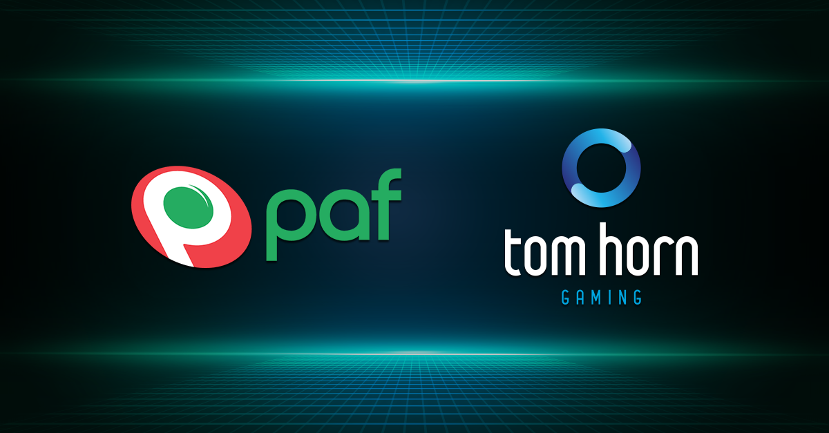 Tom Horn Gaming expands its European footprint with Paf link-up