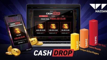 Wazdan's Cash Drop continues to ride high