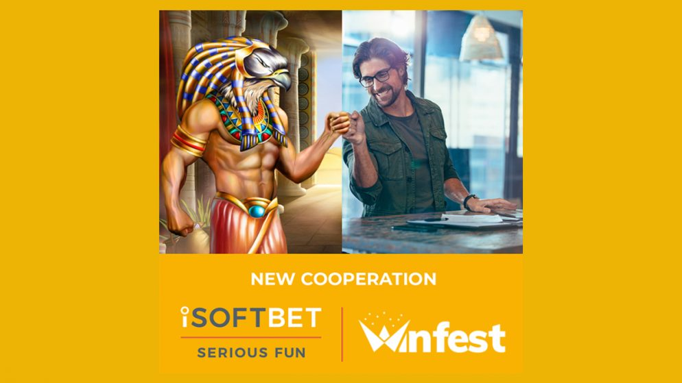 Winfest go live with iSoftBet GAP and content offering
