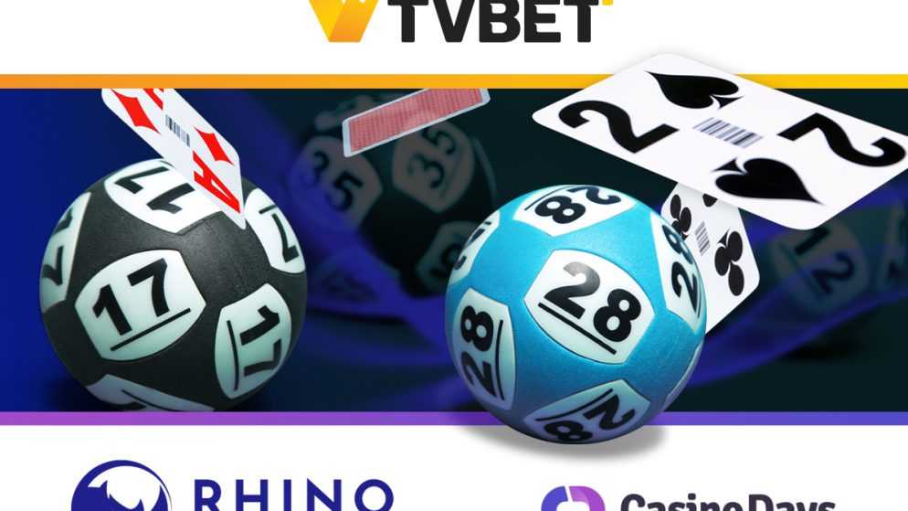 TVBET is inking a deal with Rhino Entertainment Ltd and its Casino Days brand